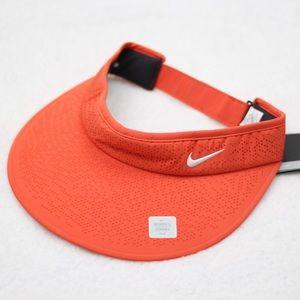 NEW Nike Coral Orange Golf Visor NWT Sun Hat